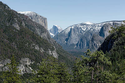 Photograph - First View Of Yosemite Valley by Belinda Greb
