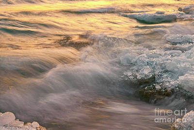 Photograph - First Waves Of Spring by Charline Xia