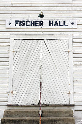 Photograph - Fischer Dance Hall by Pamela Showalter
