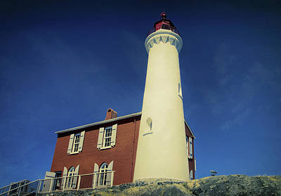 Photograph - Fisgard Lighthouse 3 by Marilyn Wilson