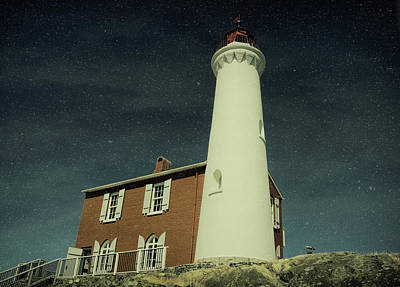Photograph - Fisgard Lighthouse by Marilyn Wilson