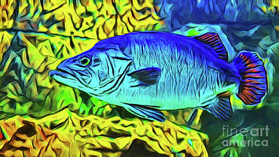 Photograph - Fish 20518 by Ray Shrewsberry