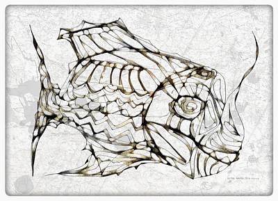Digital Art - Fish 3768 by Marek Lutek