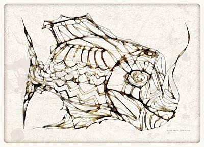 Digital Art - Fish 3769 by Marek Lutek