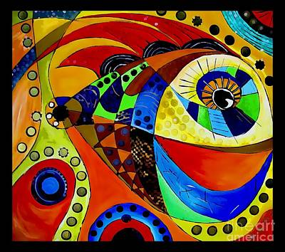Digital Art - Fish 4403 by Marek Lutek
