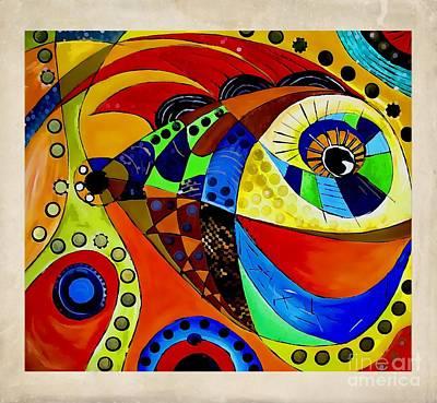 Digital Art - Fish 4404 by Marek Lutek