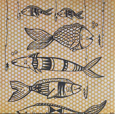 Fish And Hooks Original