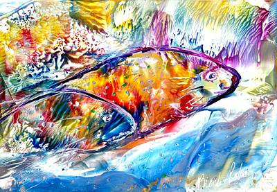 Painting - Fish Are Jumpin' by Brenda Robinson