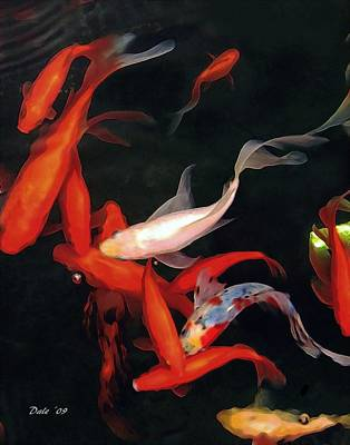 Dale Ford Digital Art - Fish Ballet by Dale   Ford