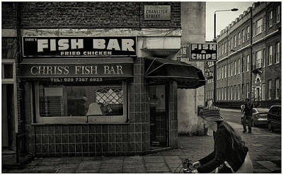 Photograph - Fish Bar by Stewart Marsden