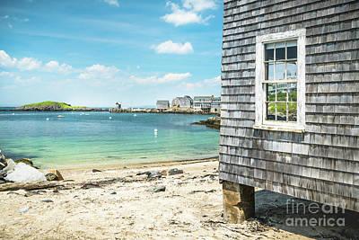 Photograph - Fish Beach Monhegan Island by Benjamin Williamson