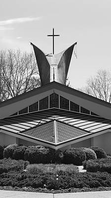 Photograph - Fish Church B W by Rob Hans
