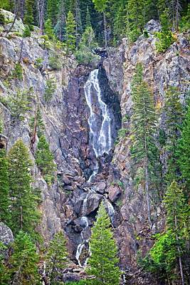 Photograph - Fish Creek Falls by Ronald Lutz