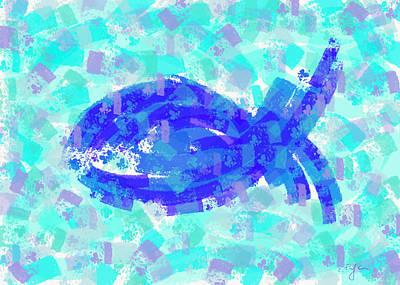 Digital Art - Fish by Cristina Stefan