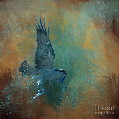 Wildlife Mixed Media - Fish Day by Marvin Spates