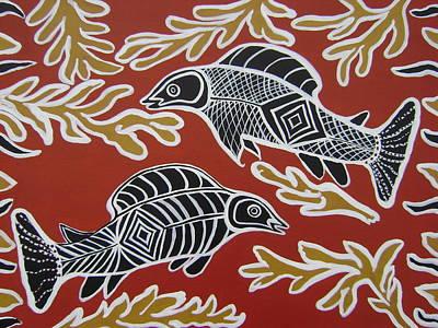 Fish Dreamin Original by Laura Johnson