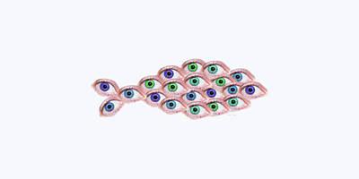 Animals Digital Art - Fish Eye by Betsy Knapp