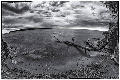 Photograph - Fish-eye Storm by David Heilman