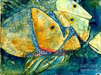 Fish Friends Art Print