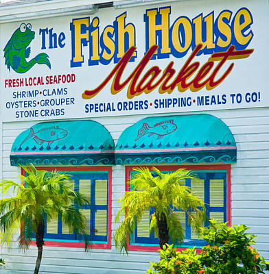Photograph - Fish House Market In Bonita Springs by Ginger Wakem