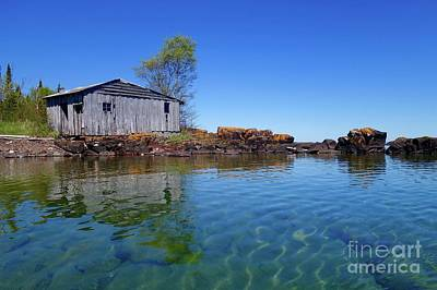 Photograph - Fish House Reflections by Sandra Updyke