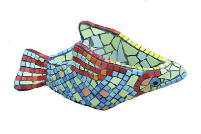 Sculpture - Fish by Katia Weyher