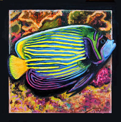 Fish Underwater Painting - Fish Number 2 by John Lautermilch