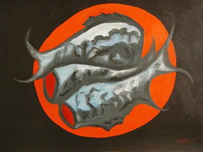 Fish Platter Art Print by Angelo Thomas