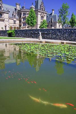 Photograph - Fish Pond At Biltmore by Jill Lang