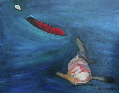 Painting - Fish Pond Too by Patty Weeks