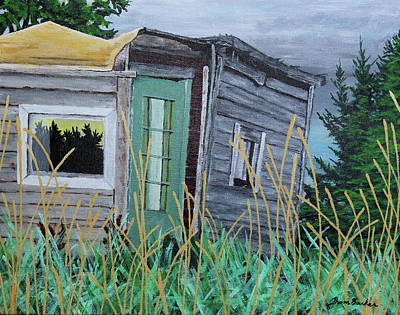Painting - Fish Shack by Thom Barker
