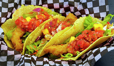 Photograph - Fish Tacos by Inge Riis McDonald