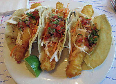 Photograph - Fish Tacos by Pema Hou
