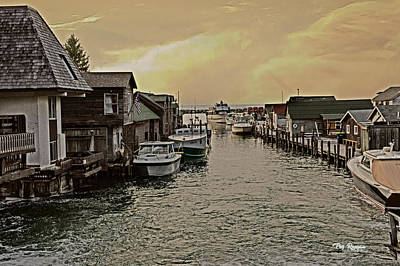 Photograph - Fish Town by Peg Runyan