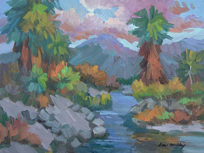 Painting - Fish Trap Indian Canyon by Diane McClary