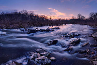 Photograph -  Fish Trap Rapids by Robert Charity