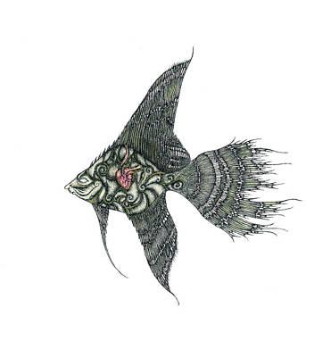 Fish Art Print by Zelde Grimm