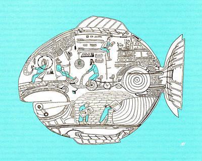 Fish3 Original by Nik Bloomberg