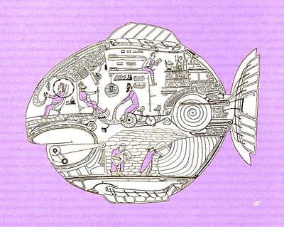 Fish6 Original by Nik Bloomberg