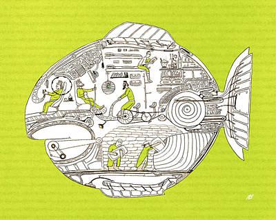 Fish7 Original by Nik Bloomberg