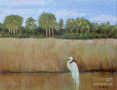 Painting - Fisher King 2 by Audrey Peaty