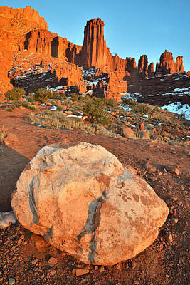 Photograph - Fisher Towers 2 by Ray Mathis