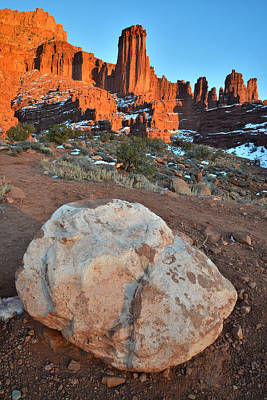 Photograph - Fisher Towers 3 by Ray Mathis