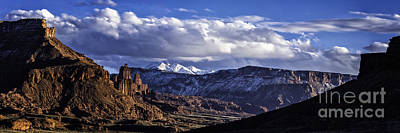 Photograph - Fisher Towers by Bitter Buffalo Photography