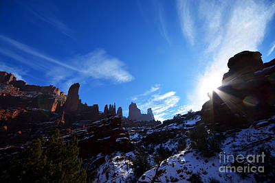 Photograph - Fisher Towers by Kate Avery