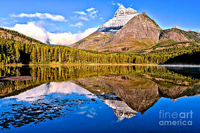 Photograph - Fishercap Blue Reflections by Adam Jewell
