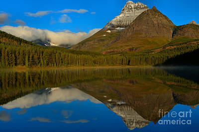 Photograph - Fishercap Morning Reflections by Adam Jewell