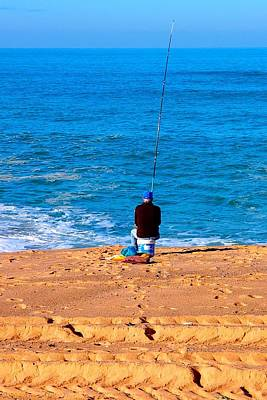 Photograph - Fisherman 01 by Dora Hathazi Mendes