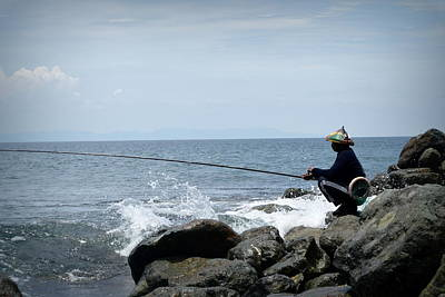 Photograph - Fisherman 2  by Shawna Gibson