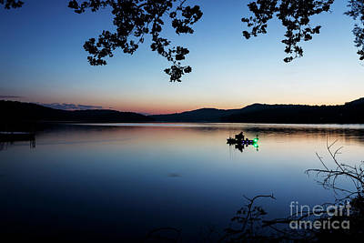 Photograph - Fisherman At Dawn by Dennis Hedberg